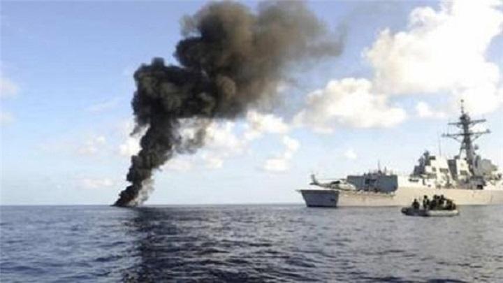 القوات البحرية اليمنية تنفذ عملية نوعية داخل #ميناء_جيزان
