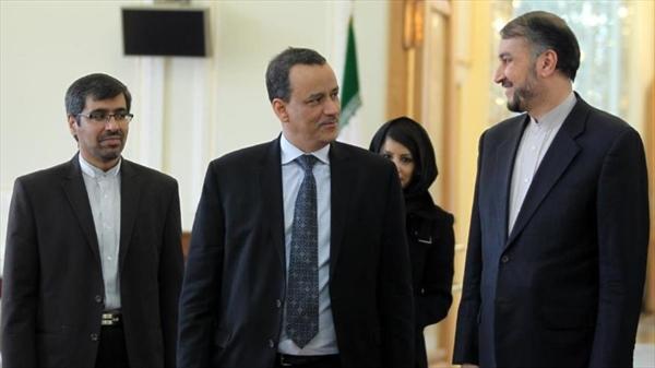 الخارجية الإيرانية: اجرينا محادثات طيبة وبناءة مع المبعوث الأممي إلى اليمن وزيارته الى ايران في اطار الحل السياسي