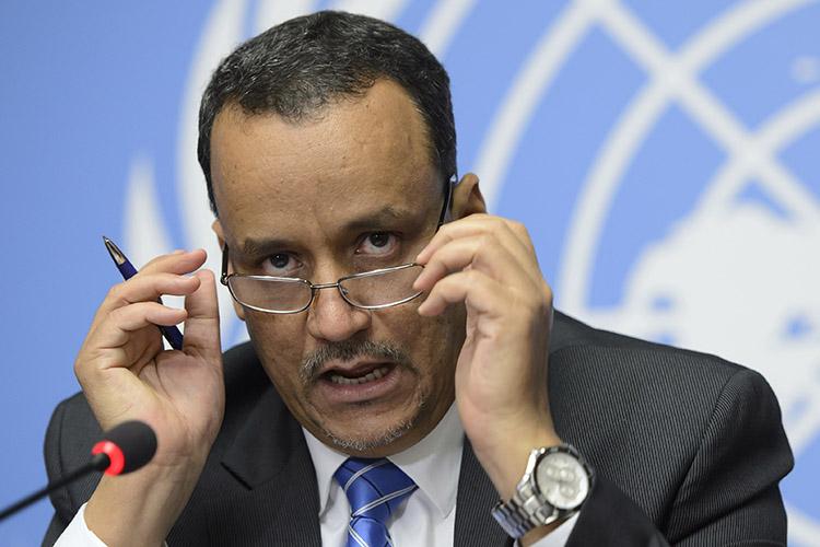"""صحيفة مصرية: """"ولد الشيخ"""" يُقر بفشل التحالف السعودي عسكريا"""