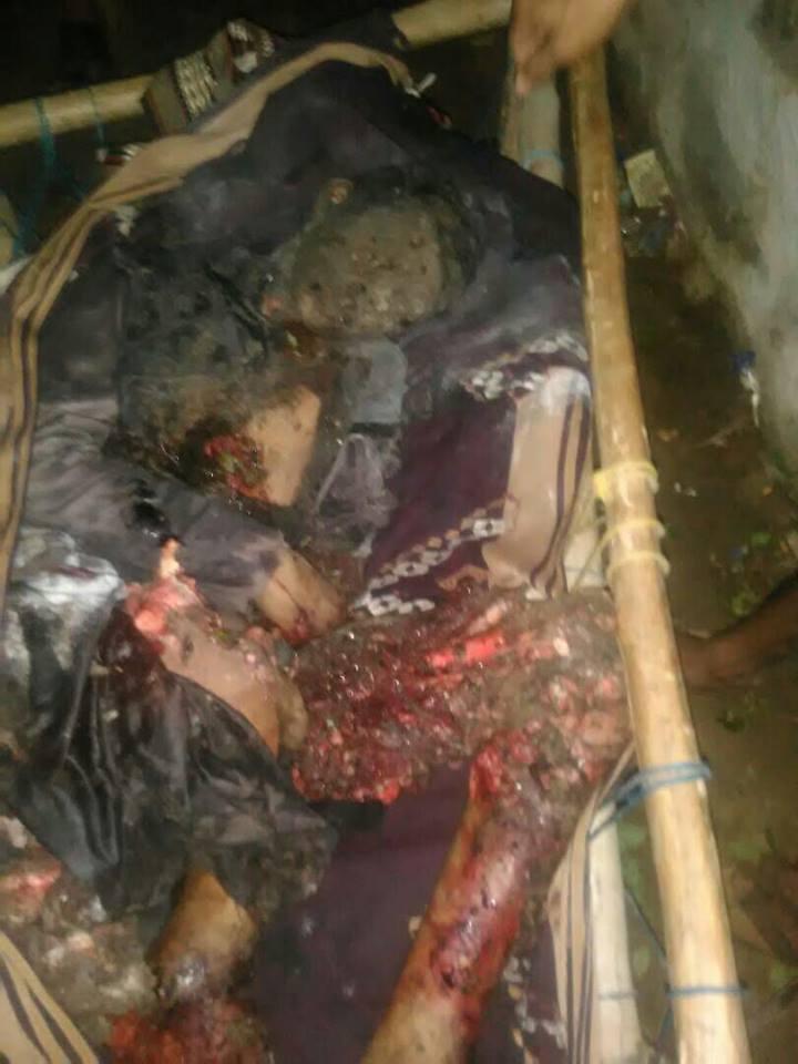 أكثر من 70 شهيد وجريح ضحية مجازر العدوان في صعدة في اقل من 70 ساعة