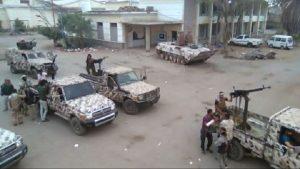 اندلاع اشتباكات مسلحة داخل أحد المعسكرات بمدينة عدن
