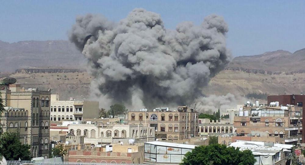 عاجل: غارة جويّة على العاصمة صنعاء (المكان المُستهدف)