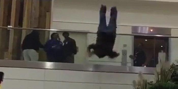 بالفيديو | لحظة انتحار أمير سعودي في مطار لندن