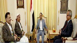 الرئيس مهدي المشاط يلتقي رئيس مجلس النواب ورئيس الوزراء لمناقشة هذه المواضيع