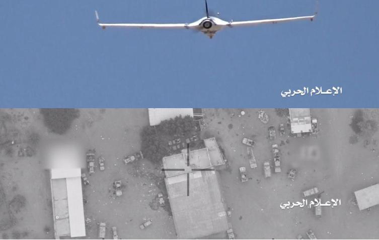 ما لم تشاهد من قبل.. طائرات الحوثيين لحظة قيامها برصد وقصف تجمعات قوات التحالف بالساحل (فيديو+صور)