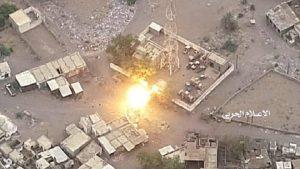 الجيش اليمني يستهدف إجتماعا لقيادات قوى العدوان في الساحل الغربي