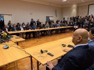 شاهد أول لقاء مباشر بين وفدي مشاورات السويد والوفد الوطني يلتقي سفراء الدول الخمس دائمة العضوية في مجلس الأمن